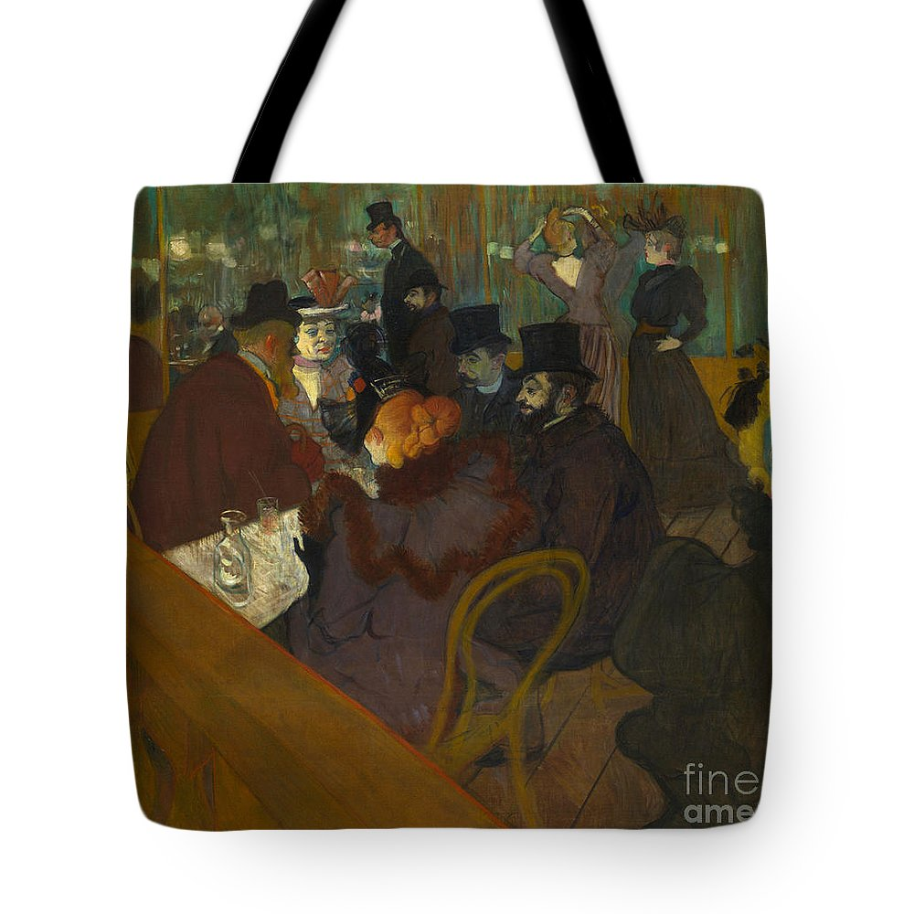1894 Tote Bag featuring the photograph Toulouse-lautrec Moulin Rouge by Granger