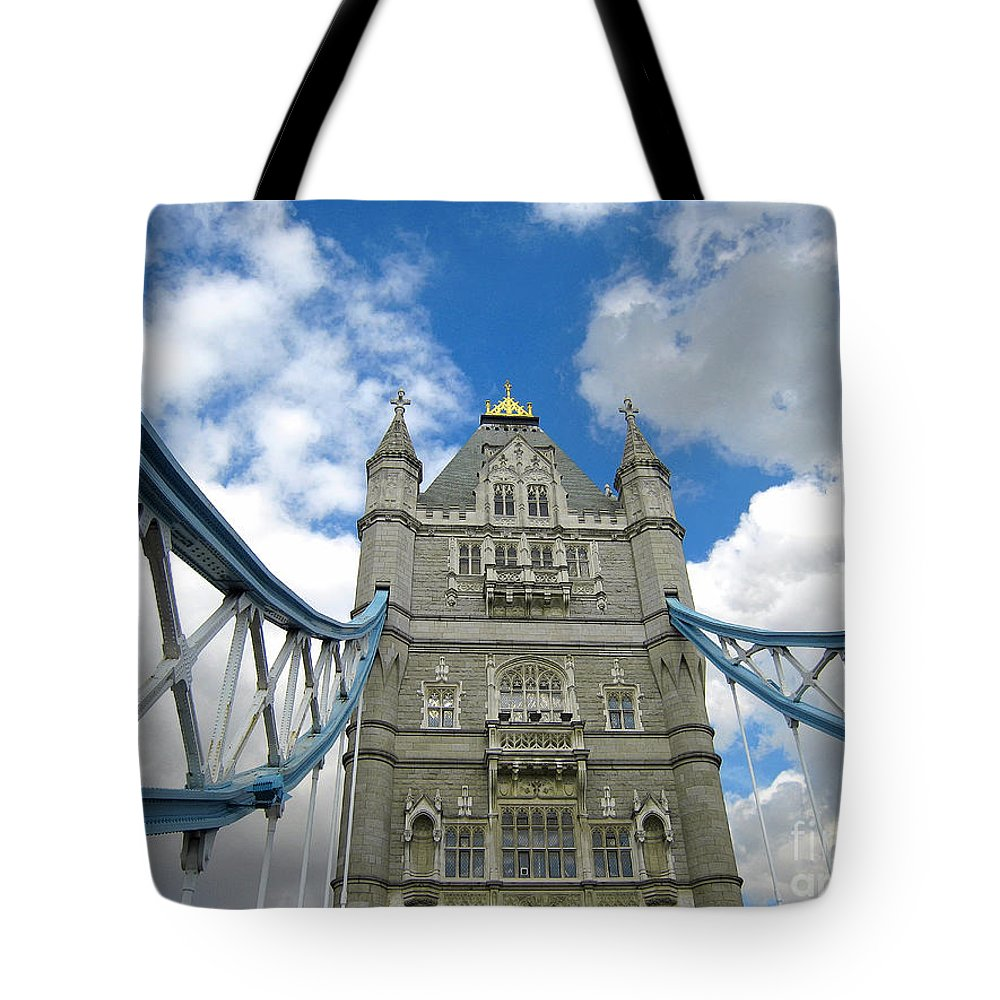 London Tote Bag featuring the photograph Tower Bridge 2 by Madeline Ellis