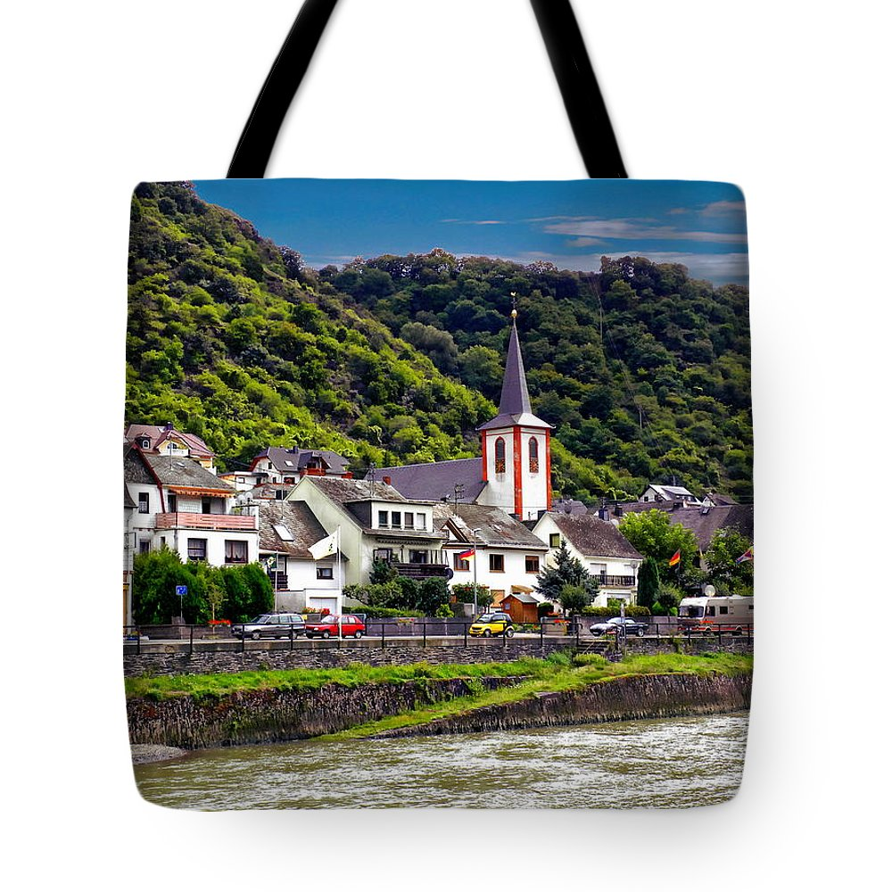 Kestert Tote Bag featuring the photograph Town Of Kestert by Anthony Dezenzio