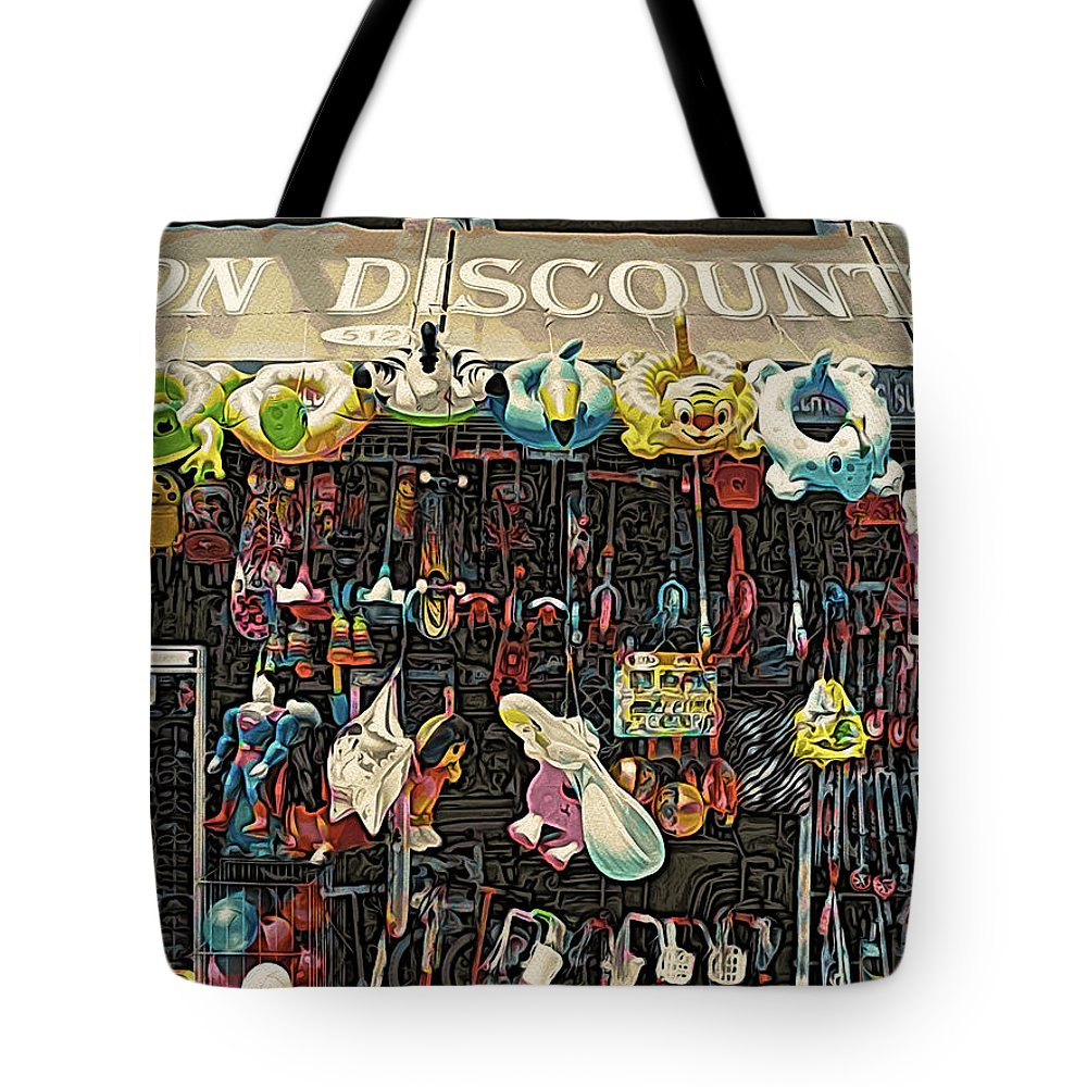 Toys Tote Bag featuring the photograph Toys Galore by Onedayoneimage Photography