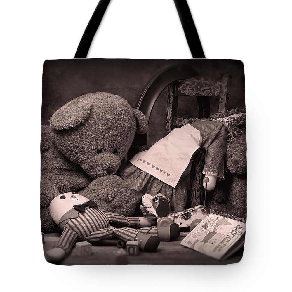Toys Tote Bag featuring the photograph Toys by Tom Mc Nemar