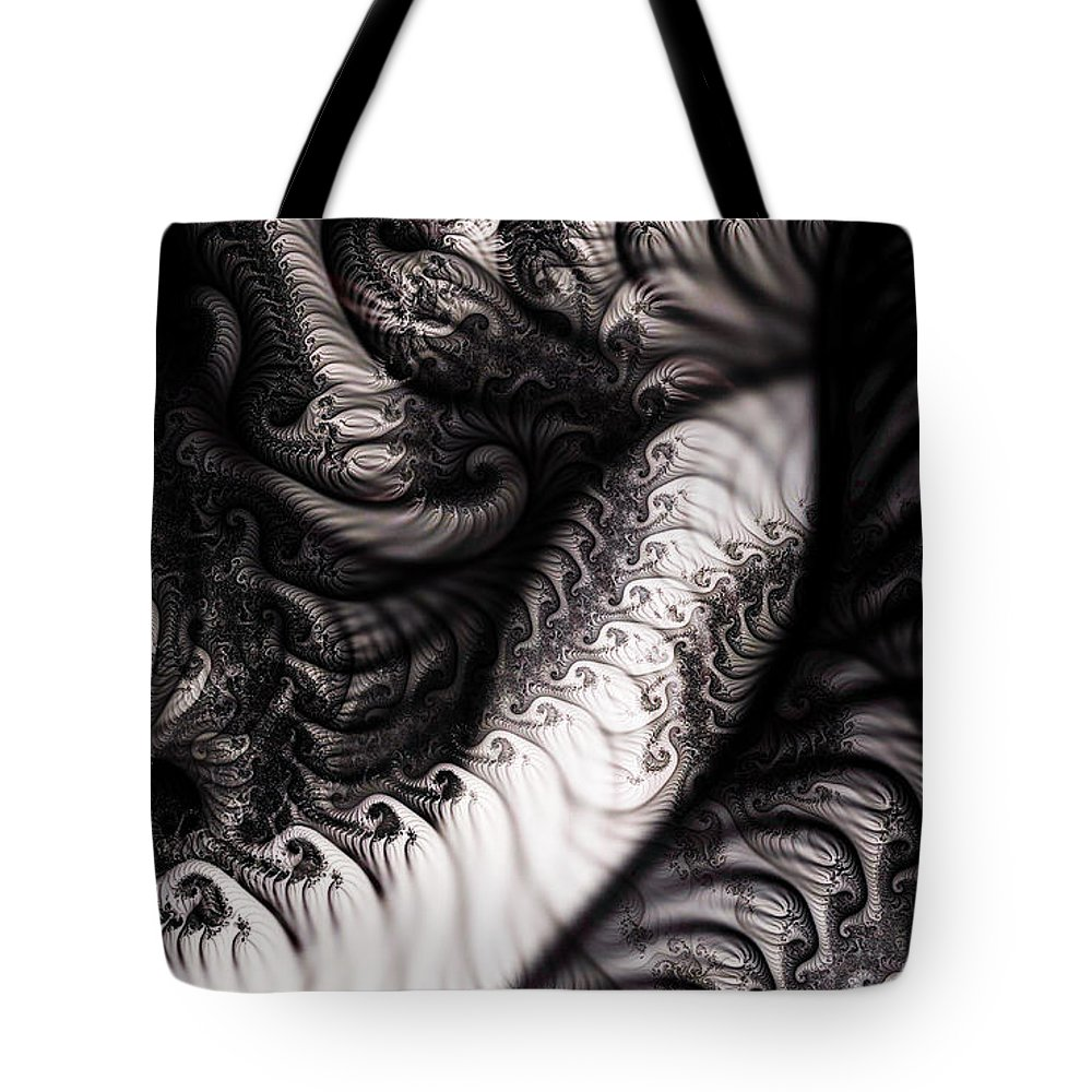Clay Tote Bag featuring the digital art Traffic Jam by Clayton Bruster