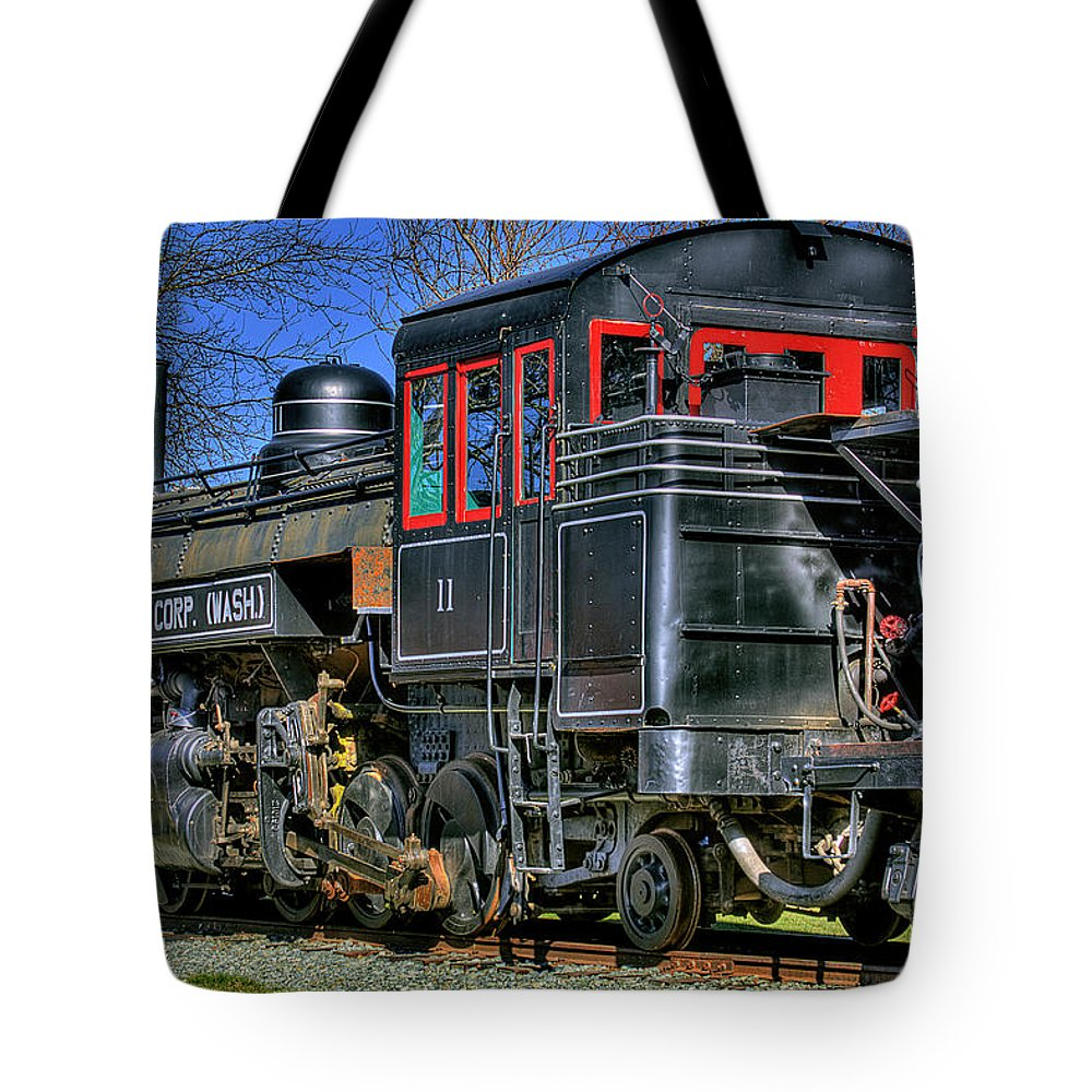 Train No. 3 Tote Bag featuring the photograph Train No. 3 by David Patterson