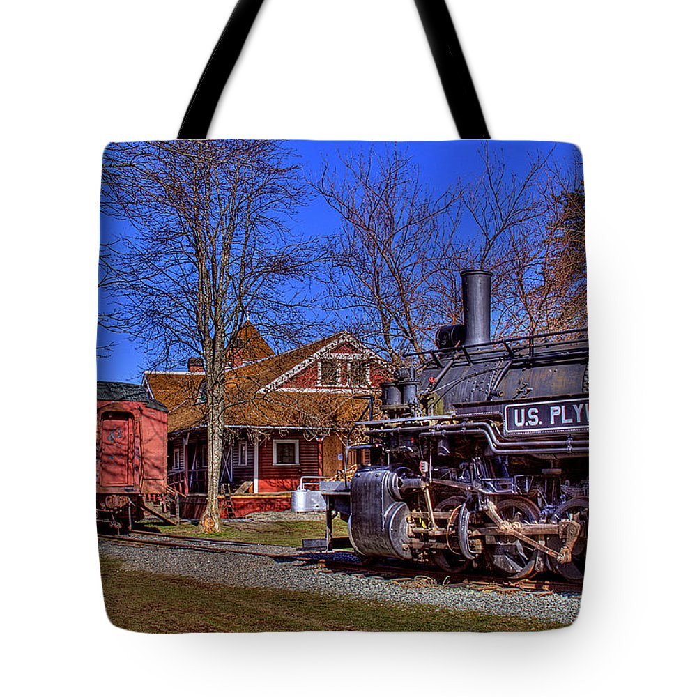 Train Tote Bag featuring the photograph Train No. 6 by David Patterson