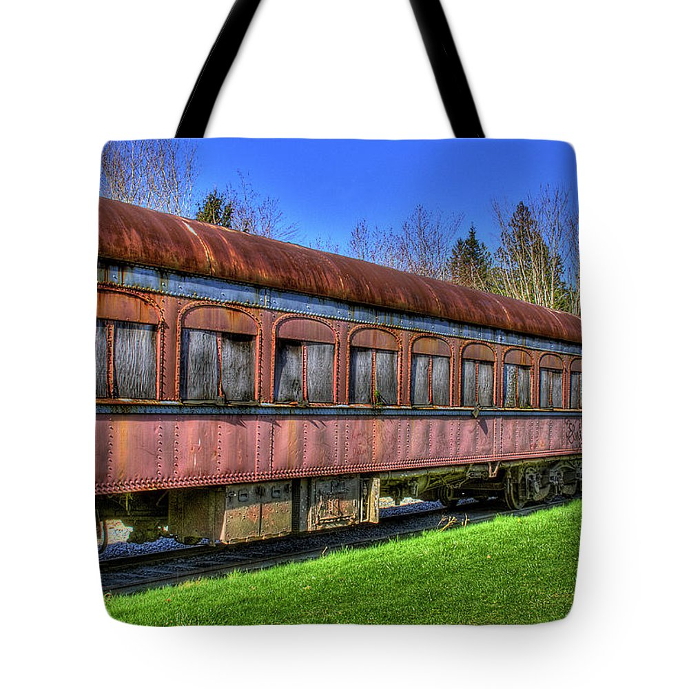 Train No. 91 Tote Bag featuring the photograph Train No. 91 by David Patterson