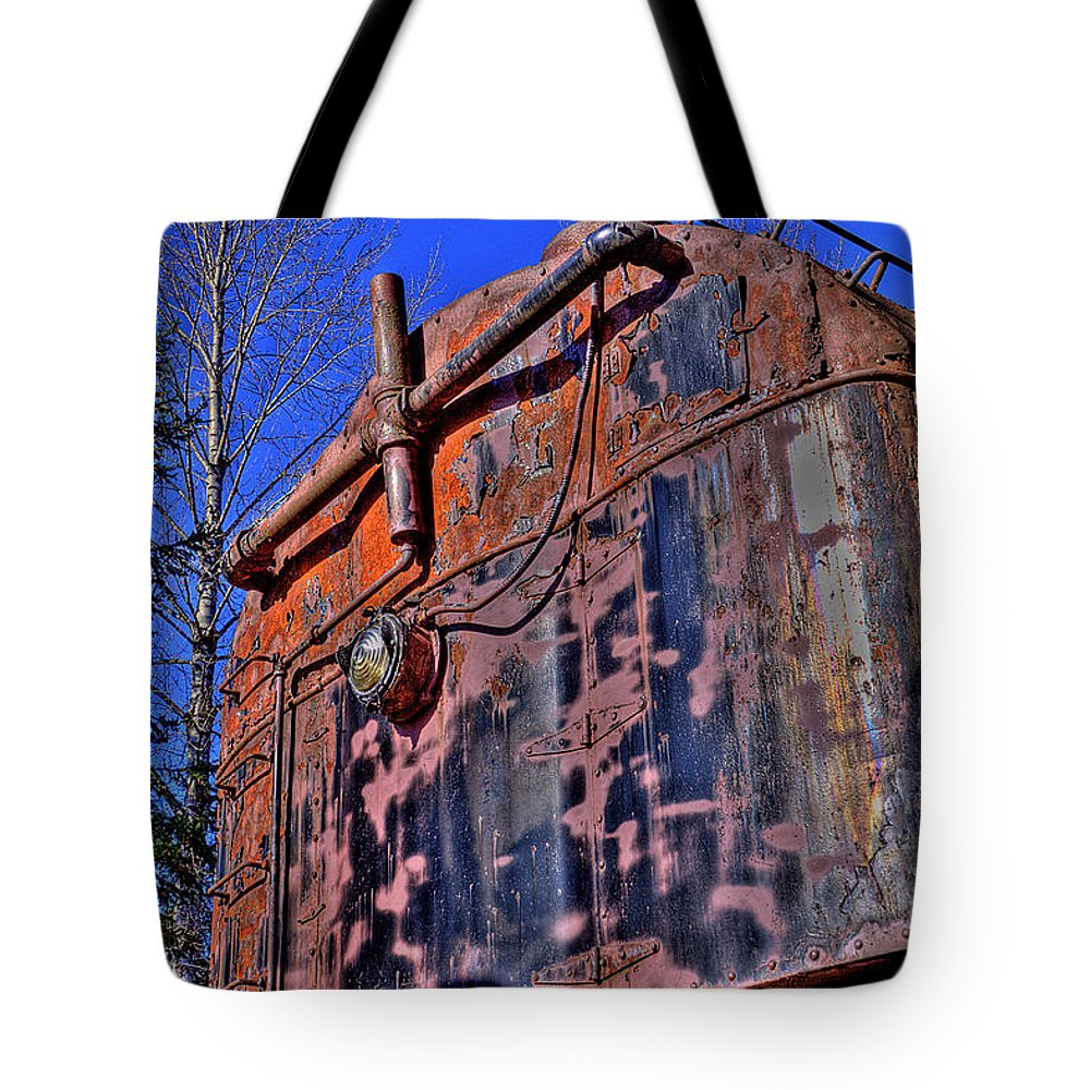 Train No. 93 Tote Bag featuring the photograph Train No. 93 by David Patterson
