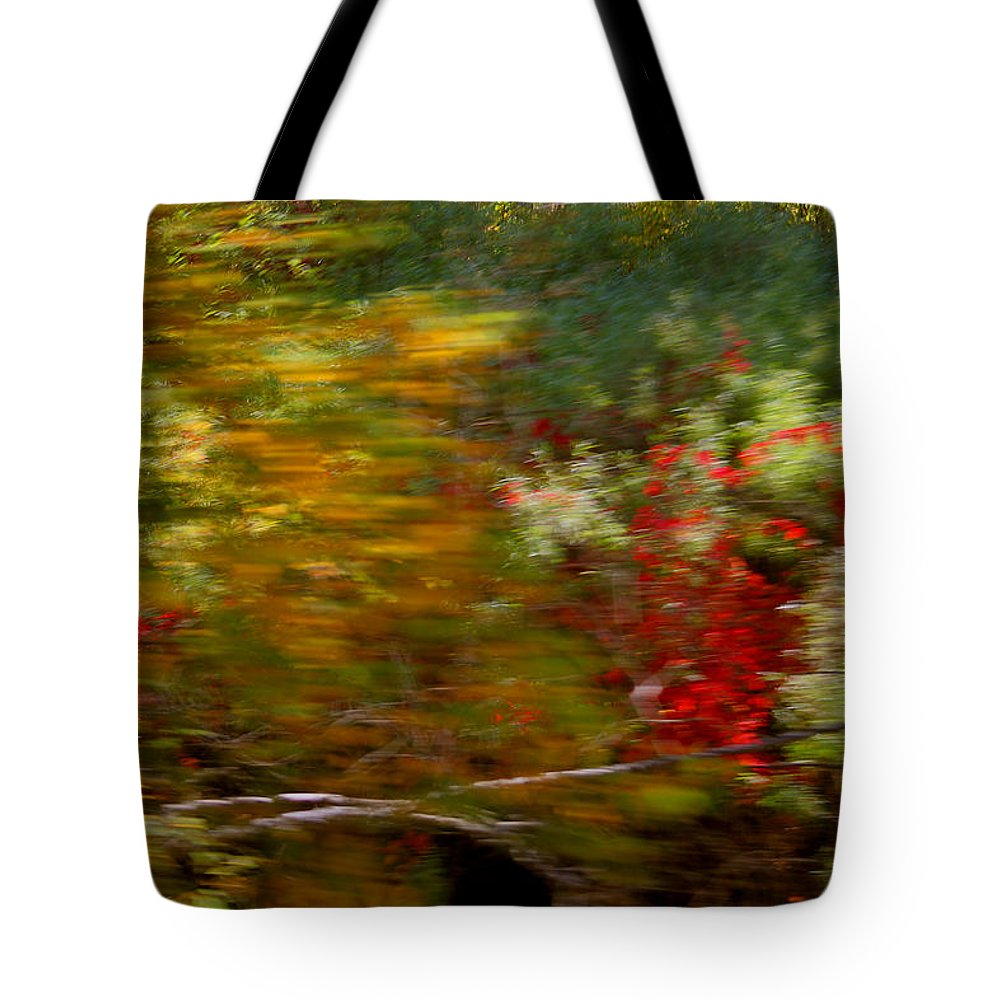 Mount Rushmore Tote Bag featuring the photograph Train Ride Colors by Mike Oistad