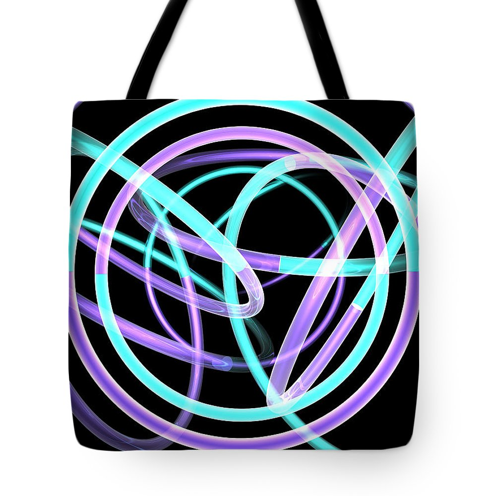 Scott Piers Tote Bag featuring the painting Trance by Scott Piers