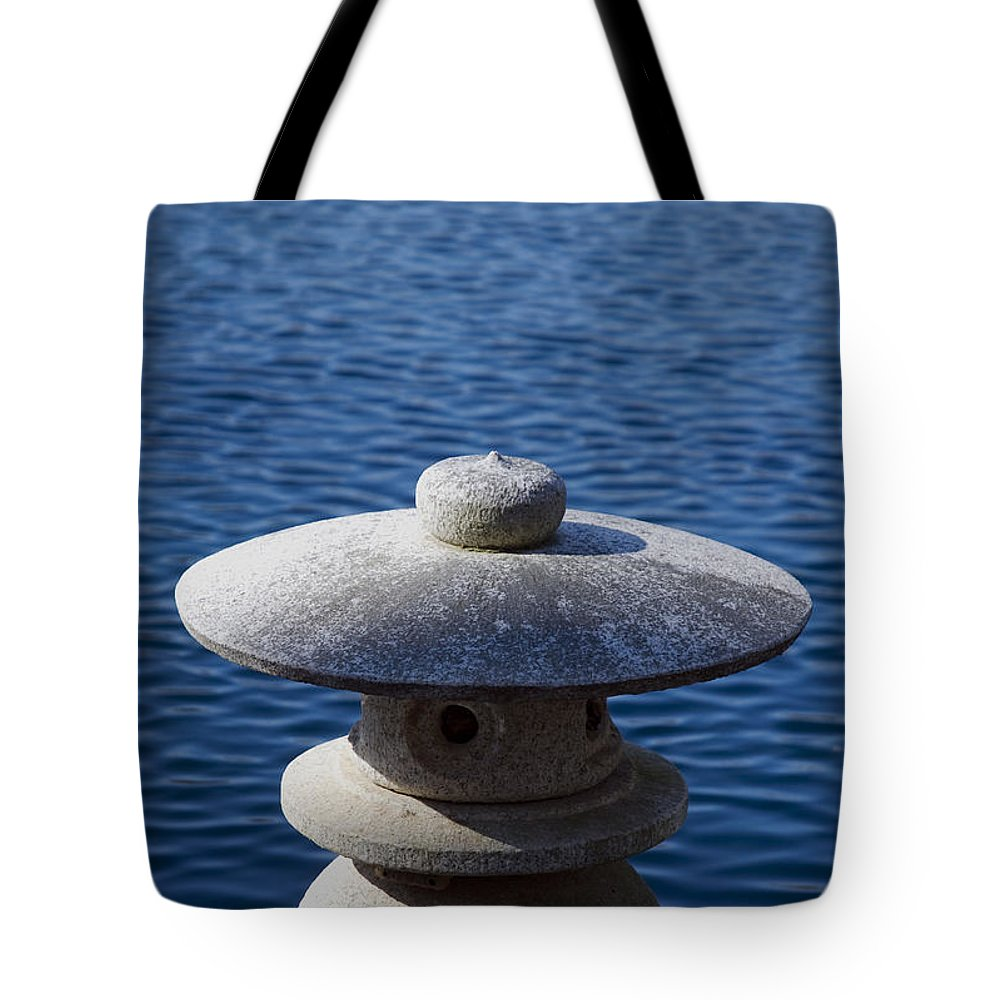 Water Tote Bag featuring the photograph Tranquil Breeze by Kelvin Booker