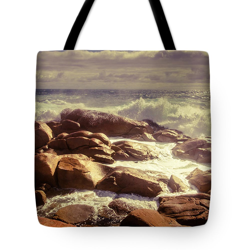 Tranquil Tote Bag featuring the photograph Tranquil Ocean Views by Jorgo Photography - Wall Art Gallery