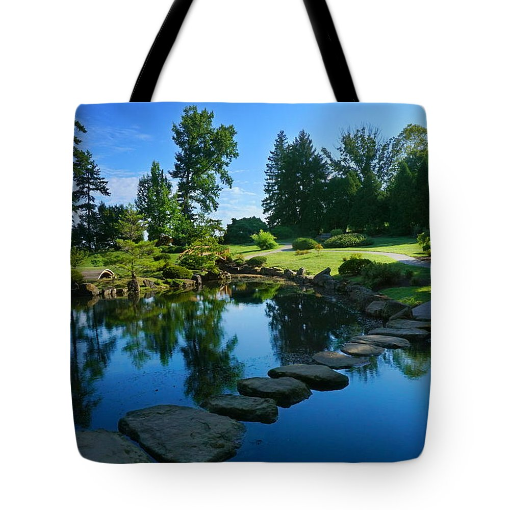 Dawes Tote Bag featuring the photograph Tranquility by Amanda Jones