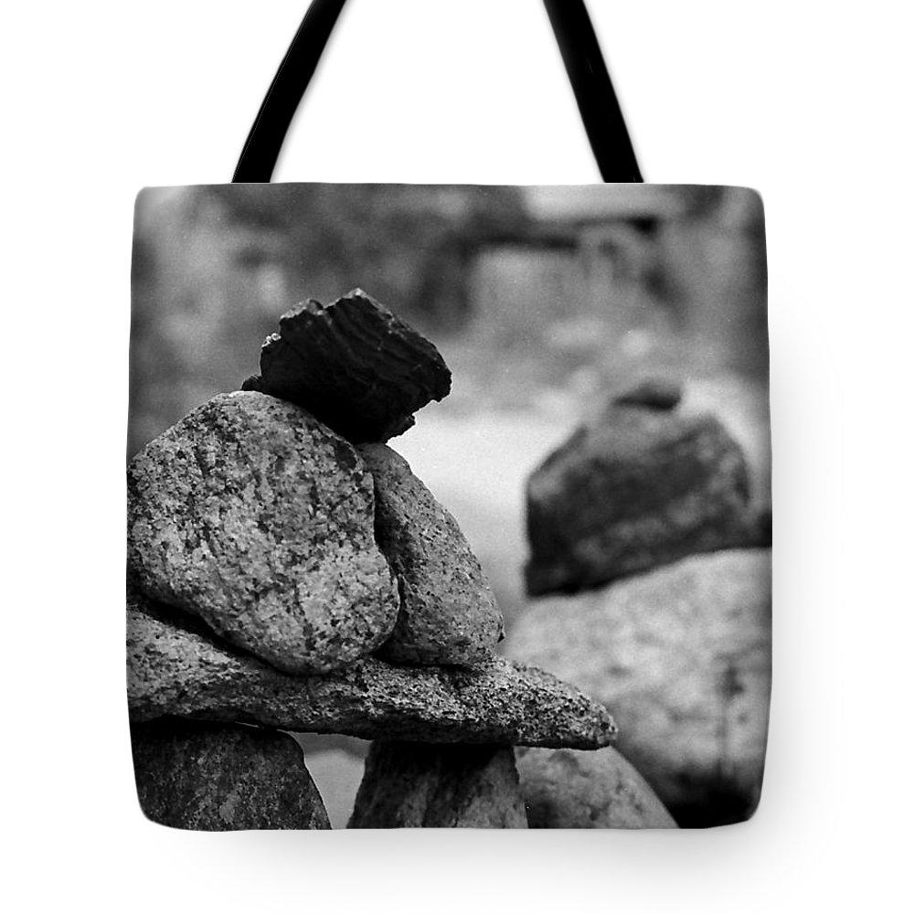 Buddhist Tote Bag featuring the photograph Tranquility Rocks Buddhist Monastery Carmel Ny by Joseph Mari