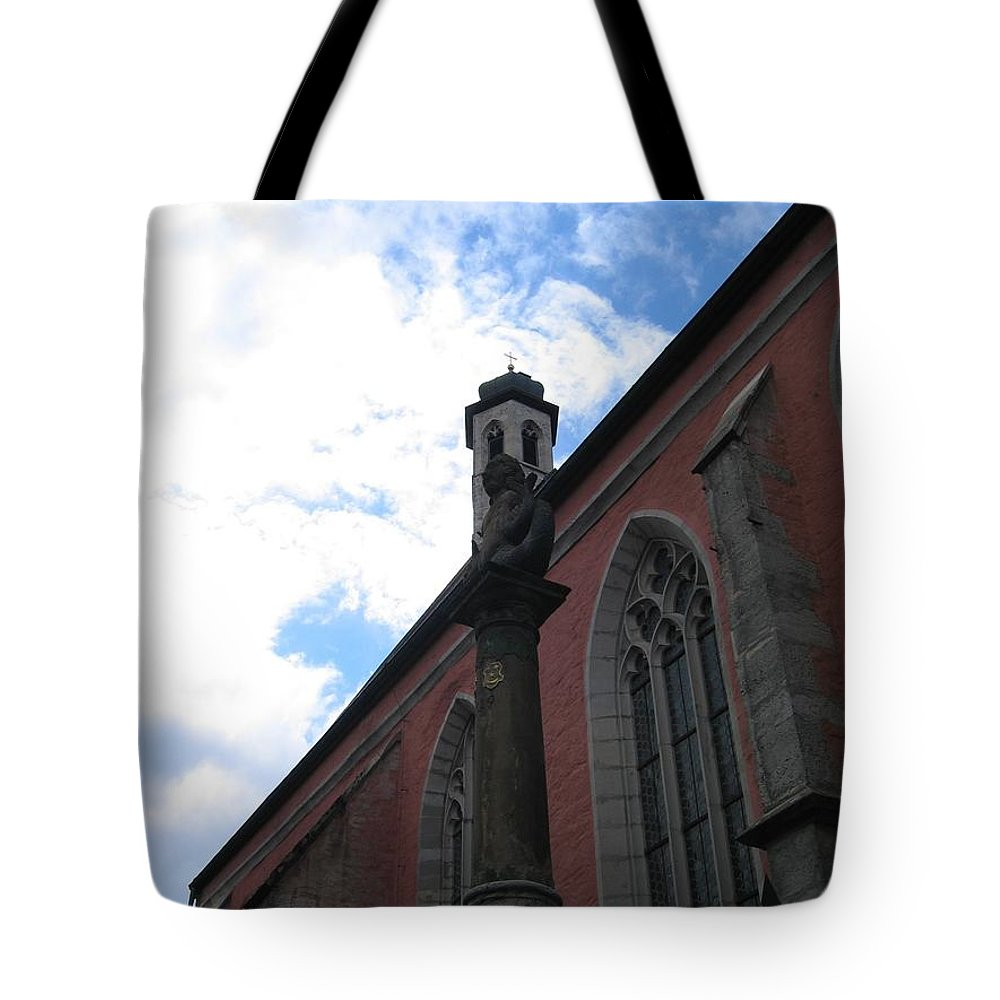 Cityscape Tote Bag featuring the photograph Transcendence by Dylan Punke