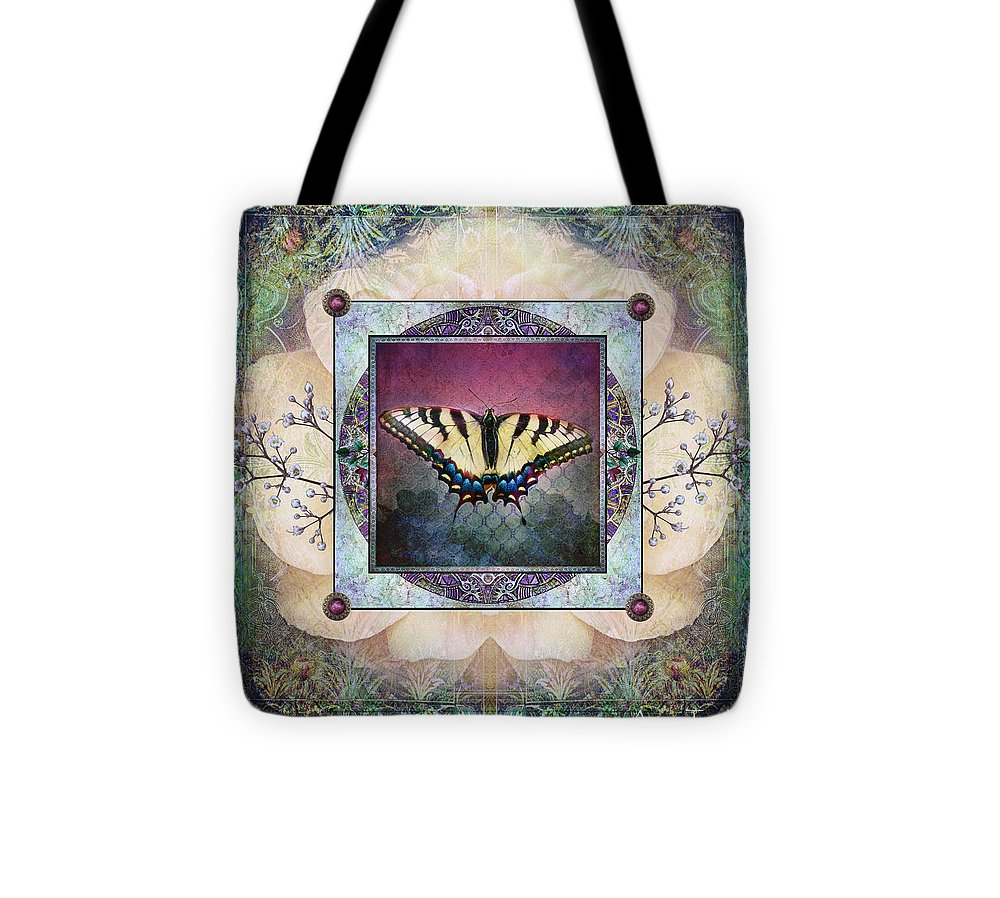 Digital Art Tote Bag featuring the photograph Transformation by Annie Towhill