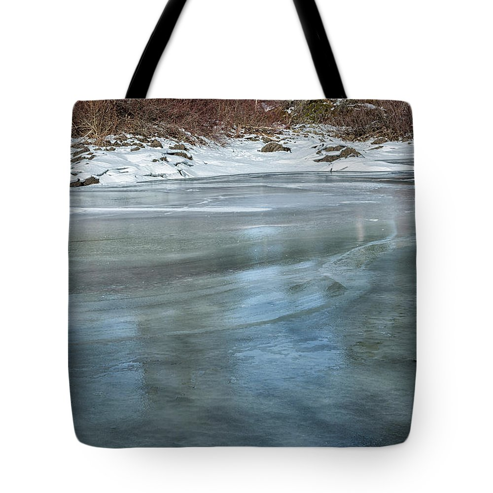 Fish Lake Tote Bag featuring the photograph Translucence by Belinda Greb