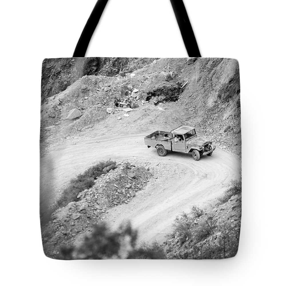Travel Tote Bag featuring the photograph Travel by Mohammed Alghamdi