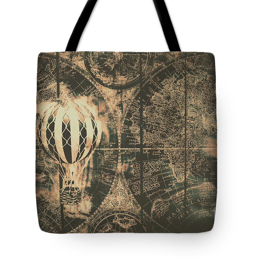 Baloons Tote Bags