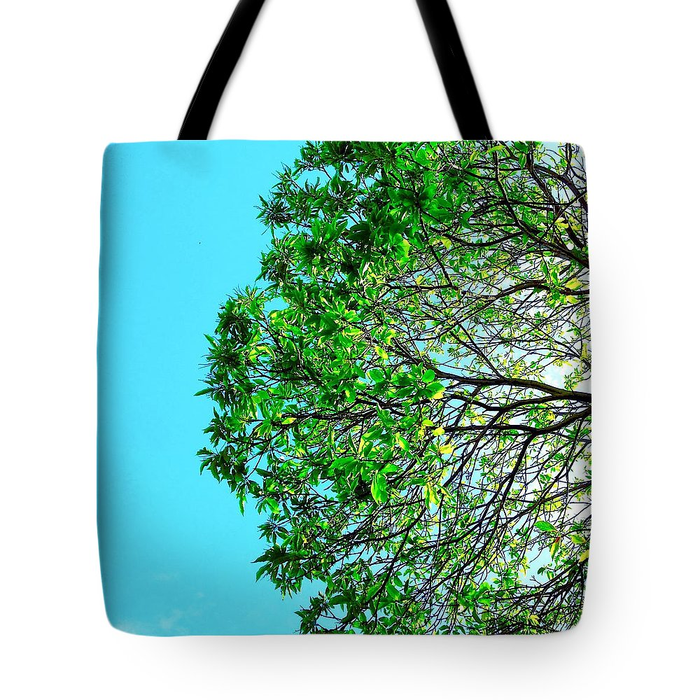Tote Bag featuring the photograph Tree #3 by Julie Gebhardt