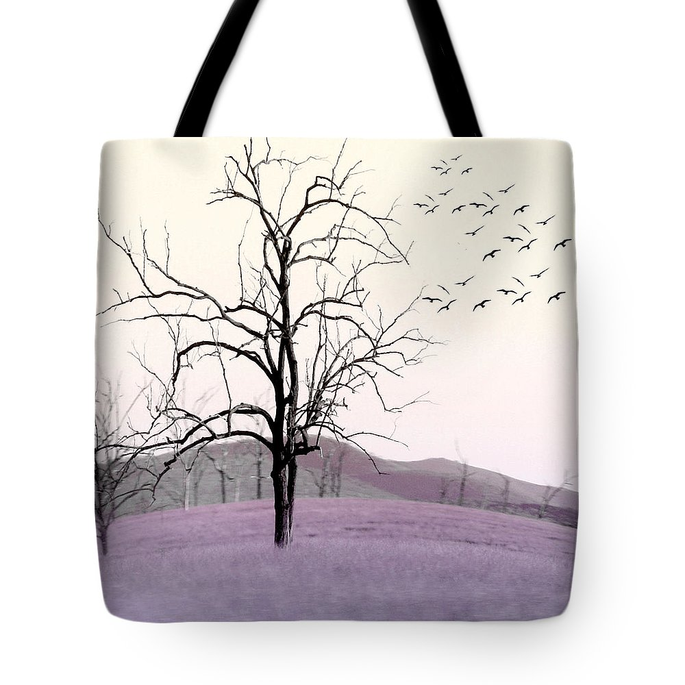 Tree Tote Bag featuring the photograph Tree Change by Holly Kempe