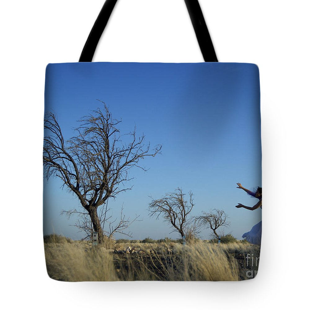 Landscape Tote Bag featuring the photograph Tree Echo by Scott Sawyer