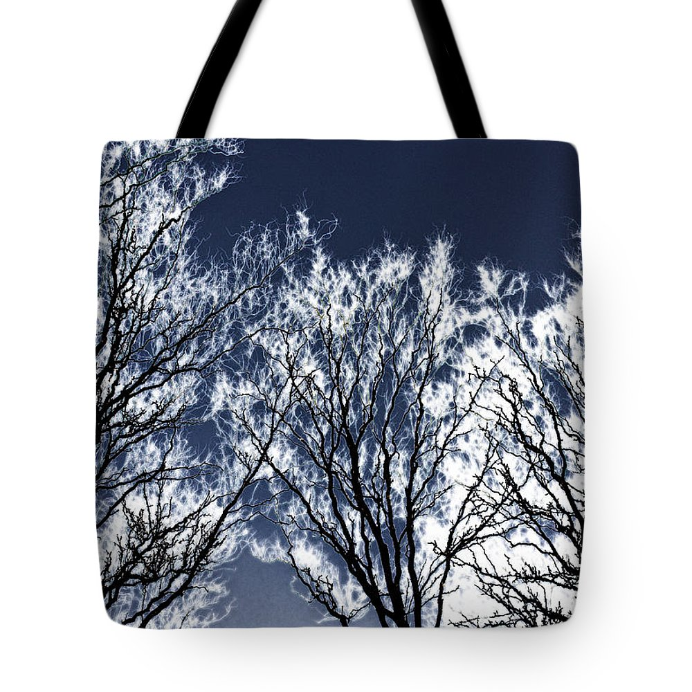Scenic Tote Bag featuring the photograph Tree Fantasy 2 by Lee Santa