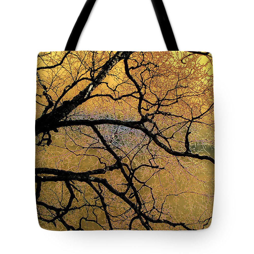 Scenic Tote Bag featuring the photograph Tree Fantasy 7 by Lee Santa