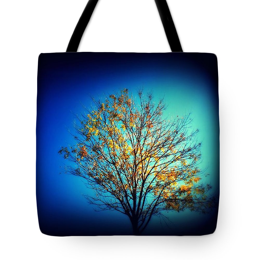 Tree Tote Bag featuring the photograph Tree by Mandy Shupp