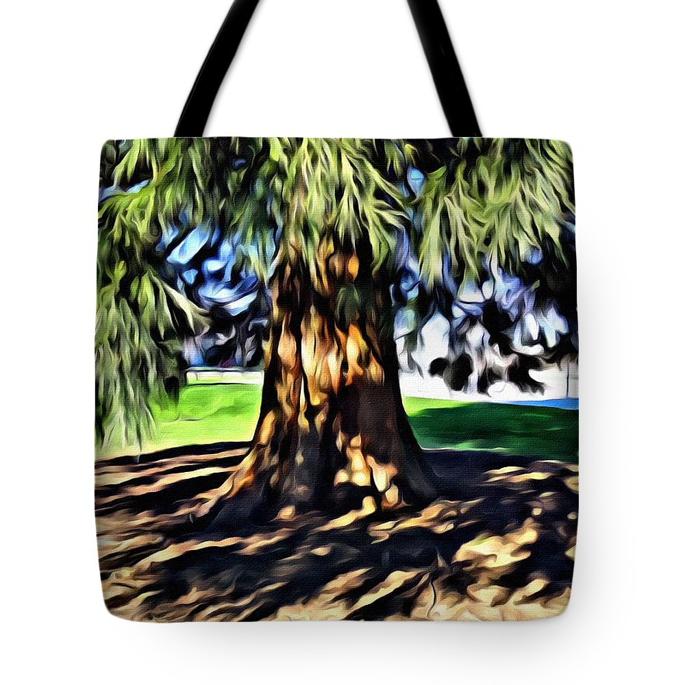 Tree Tote Bag featuring the photograph Tree Of Life by Chris Lavallee