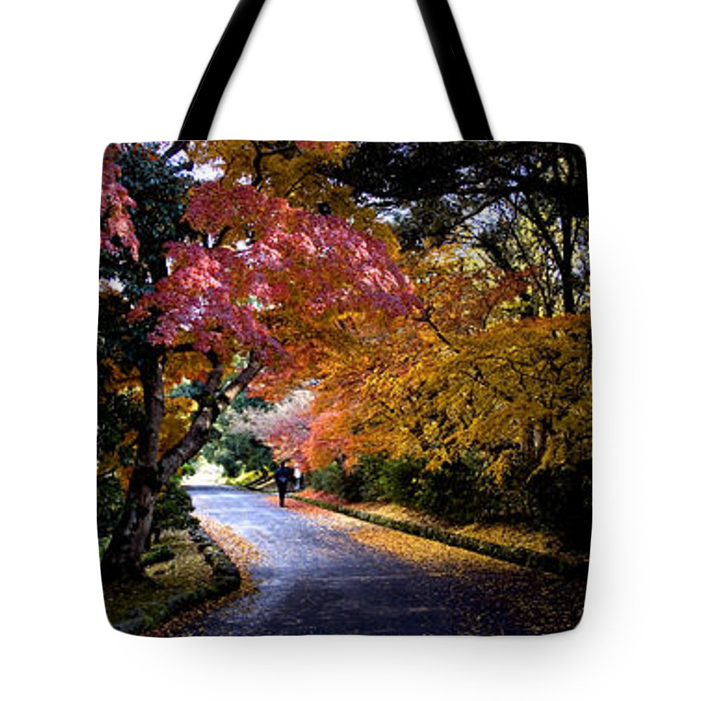 Trees Tote Bag featuring the photograph Trees In Japan 1 by George Cabig