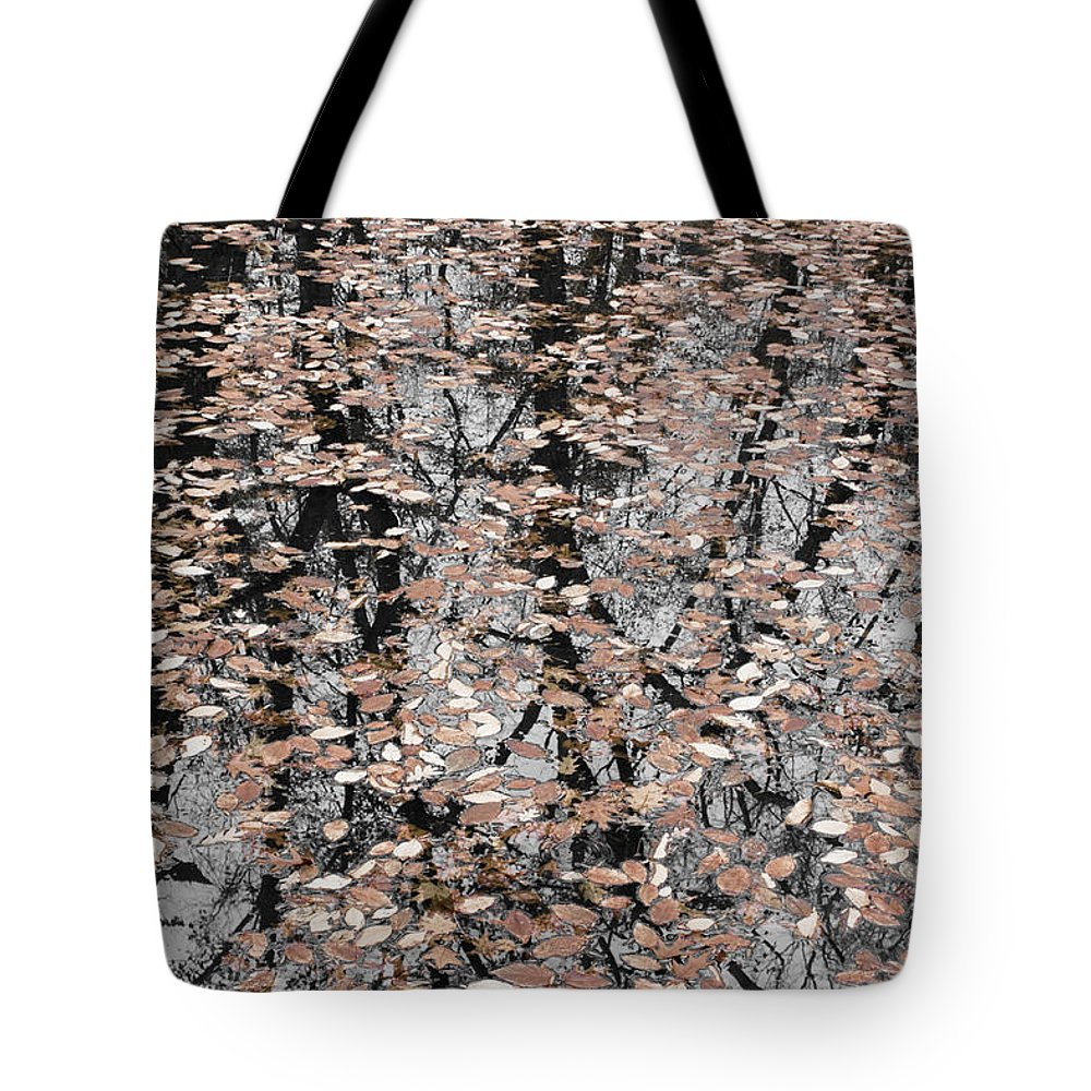 Trees Tote Bag featuring the photograph Trees In The Leaves by Ayesha Lakes