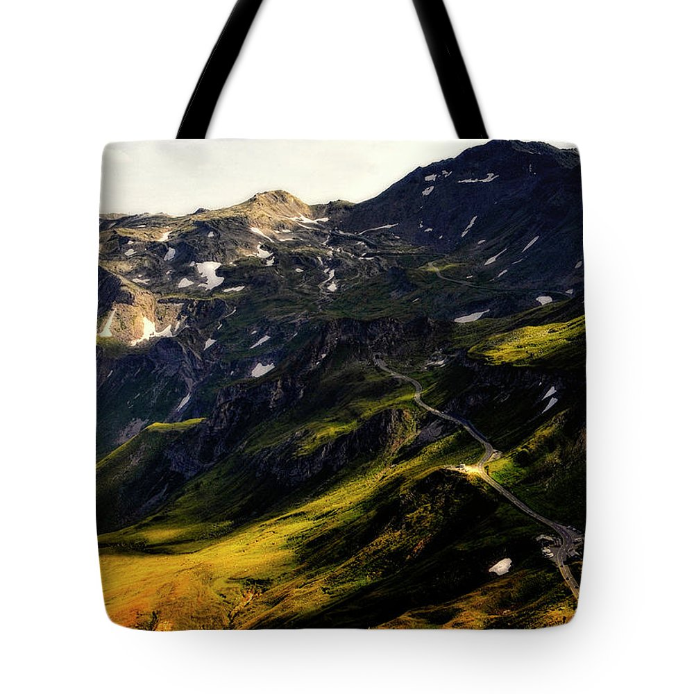 Austria Tote Bag featuring the photograph Trekking Thru Austria by Gerlinde Keating - Galleria GK Keating Associates Inc