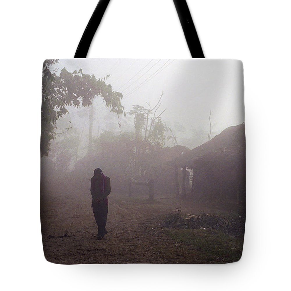 Nepal Tote Bag featuring the photograph Tristesse by Patrick Klauss