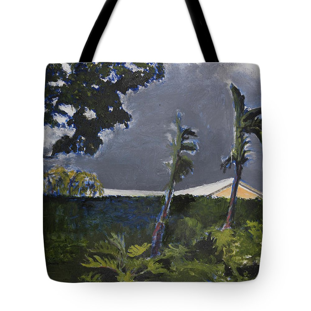 Tropic Tote Bag featuring the painting Tropic Wind by Craig Newland
