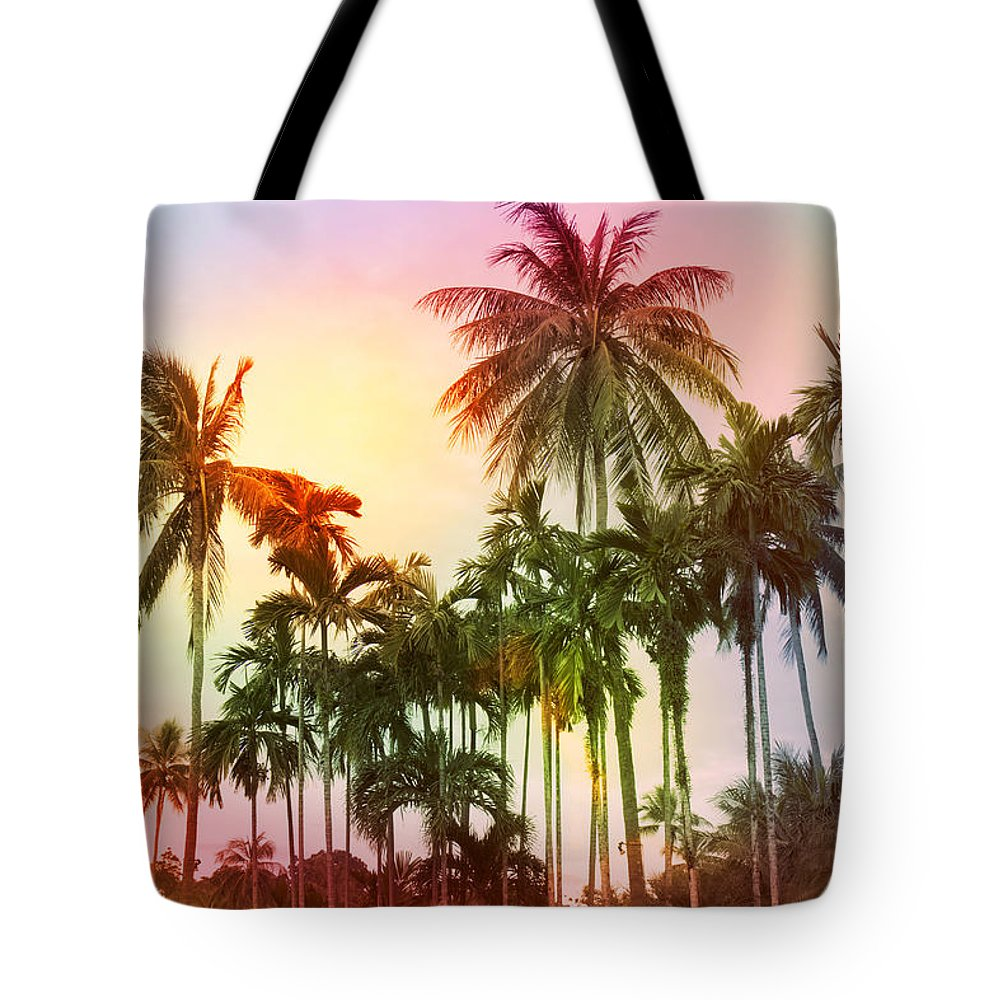Tropical Tote Bag featuring the photograph Tropical 11 by Mark Ashkenazi