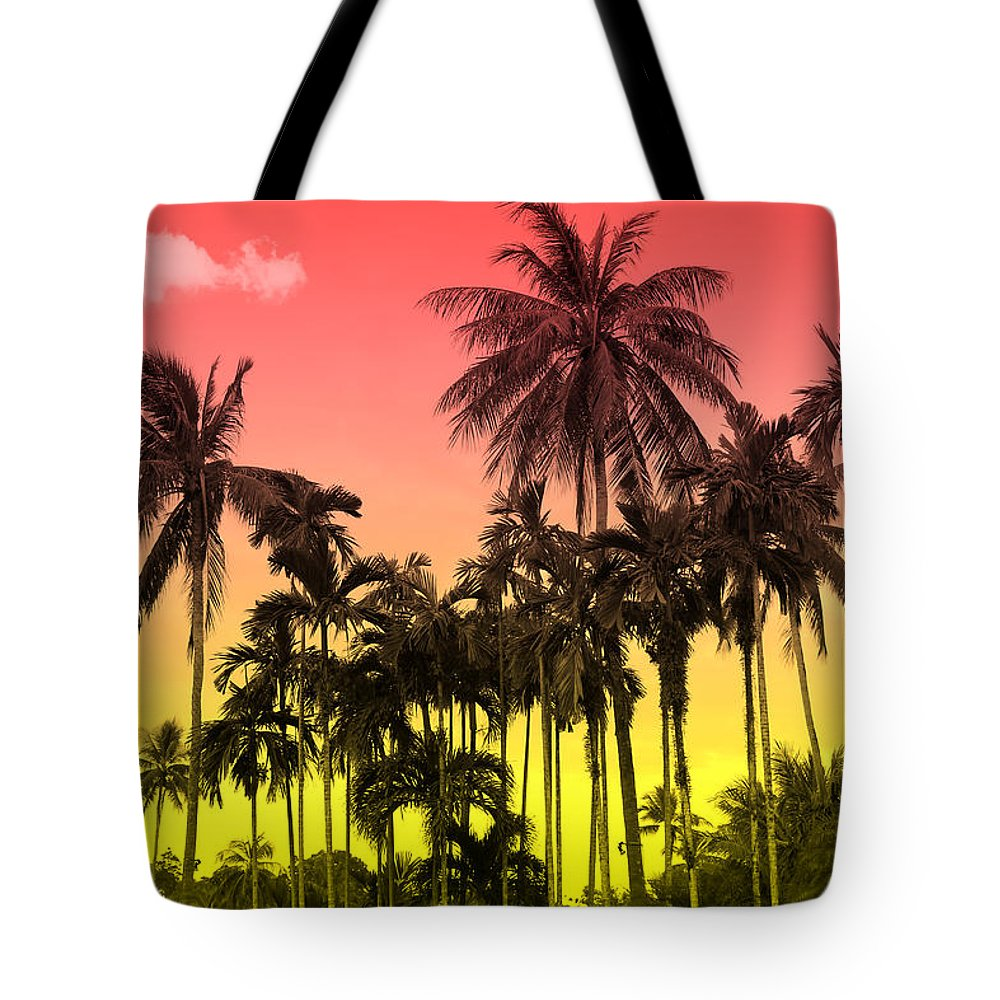 Tote Bag featuring the photograph Tropical 9 by Mark Ashkenazi
