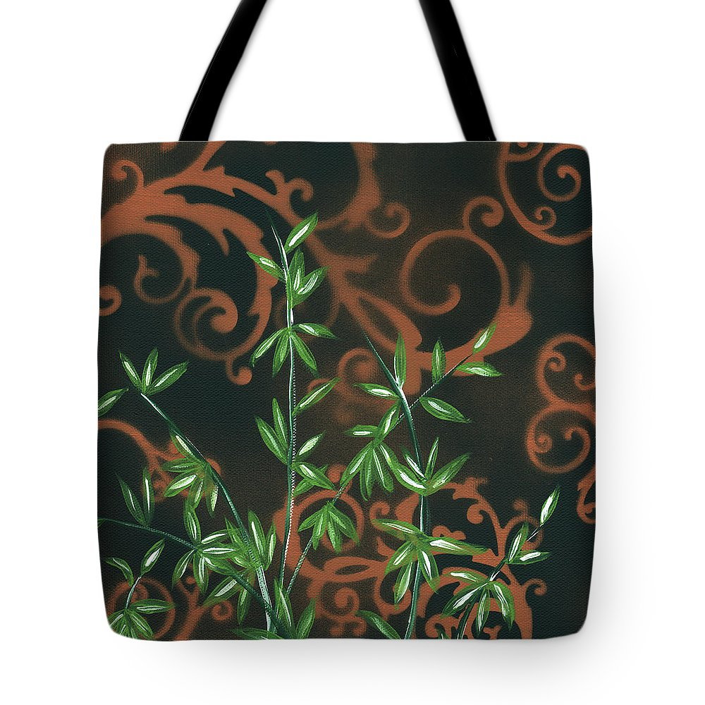 Wall Tote Bag featuring the painting Tropical Dance 2 By Madart by Megan Duncanson