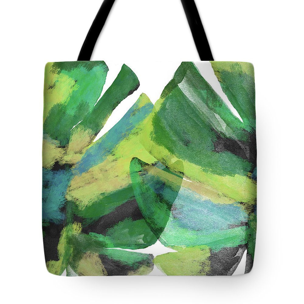 Tropical Tote Bag featuring the mixed media Tropical Dreams 1- Art by Linda Woods by Linda Woods