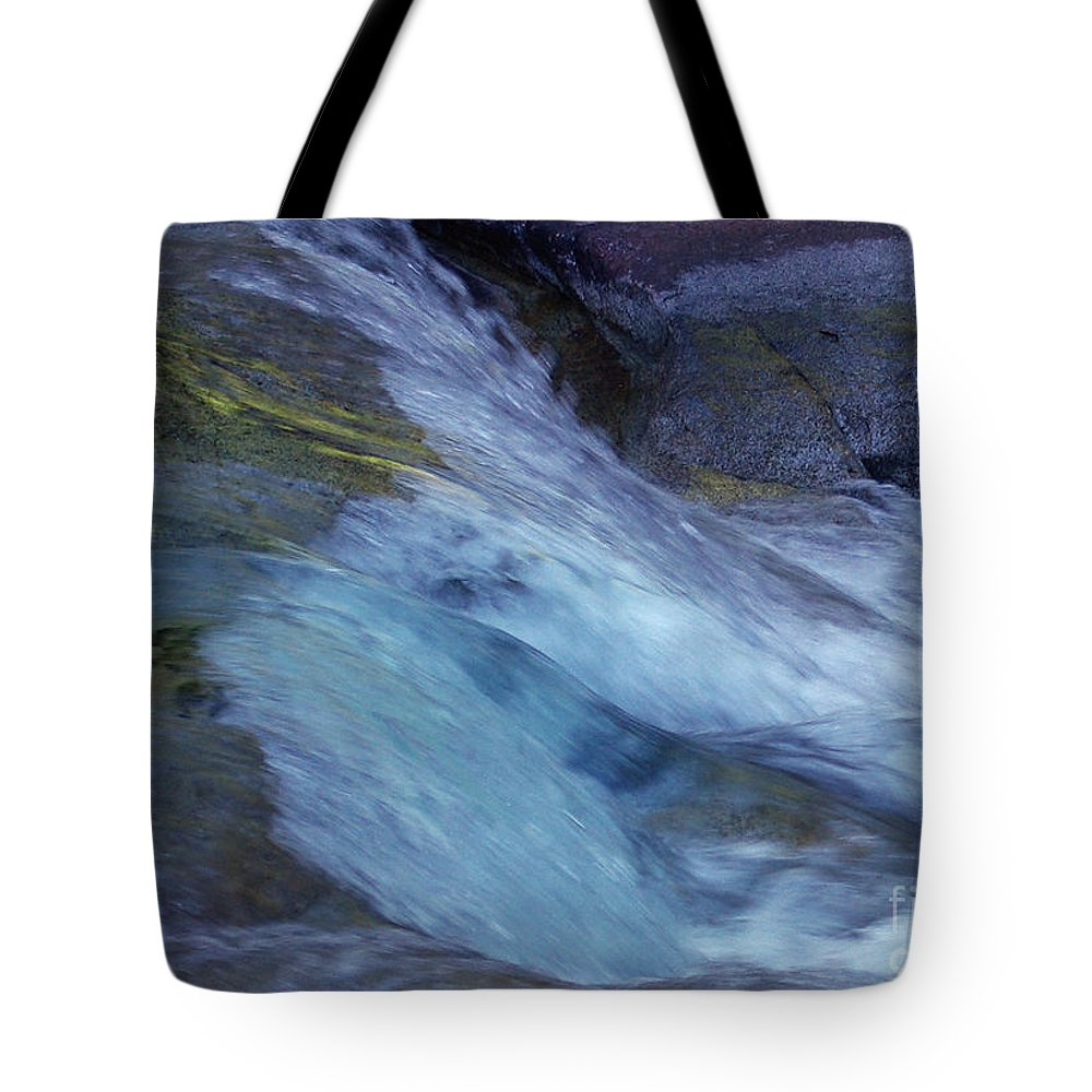 Nature Tote Bag featuring the photograph Tropical Flowing Waters by Kerryn Madsen- Pietsch