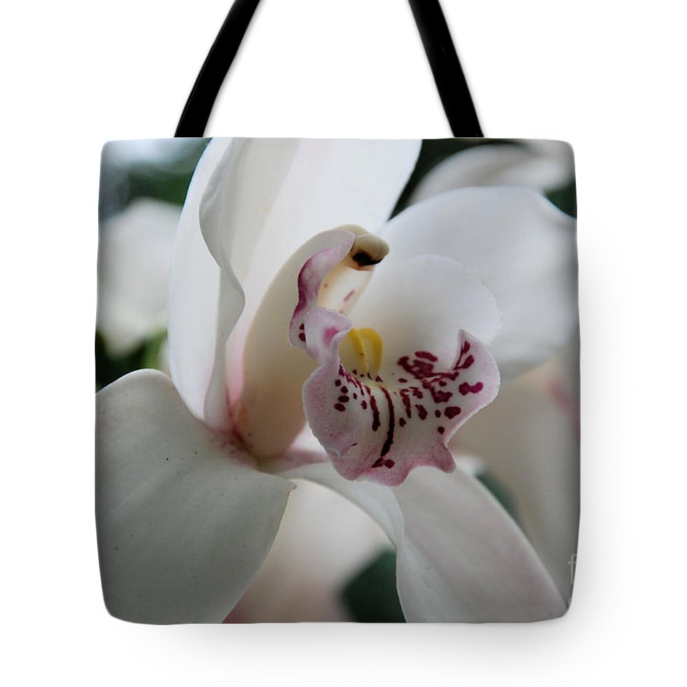 Orchid Tote Bag featuring the photograph Tropical Orchid by Katherine W Morse