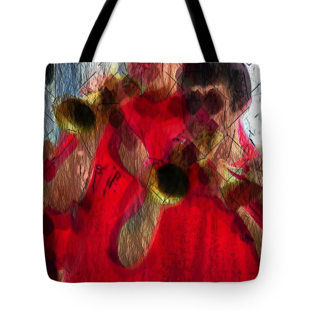 Ebsq Tote Bag featuring the photograph Trumpeters by Dee Flouton