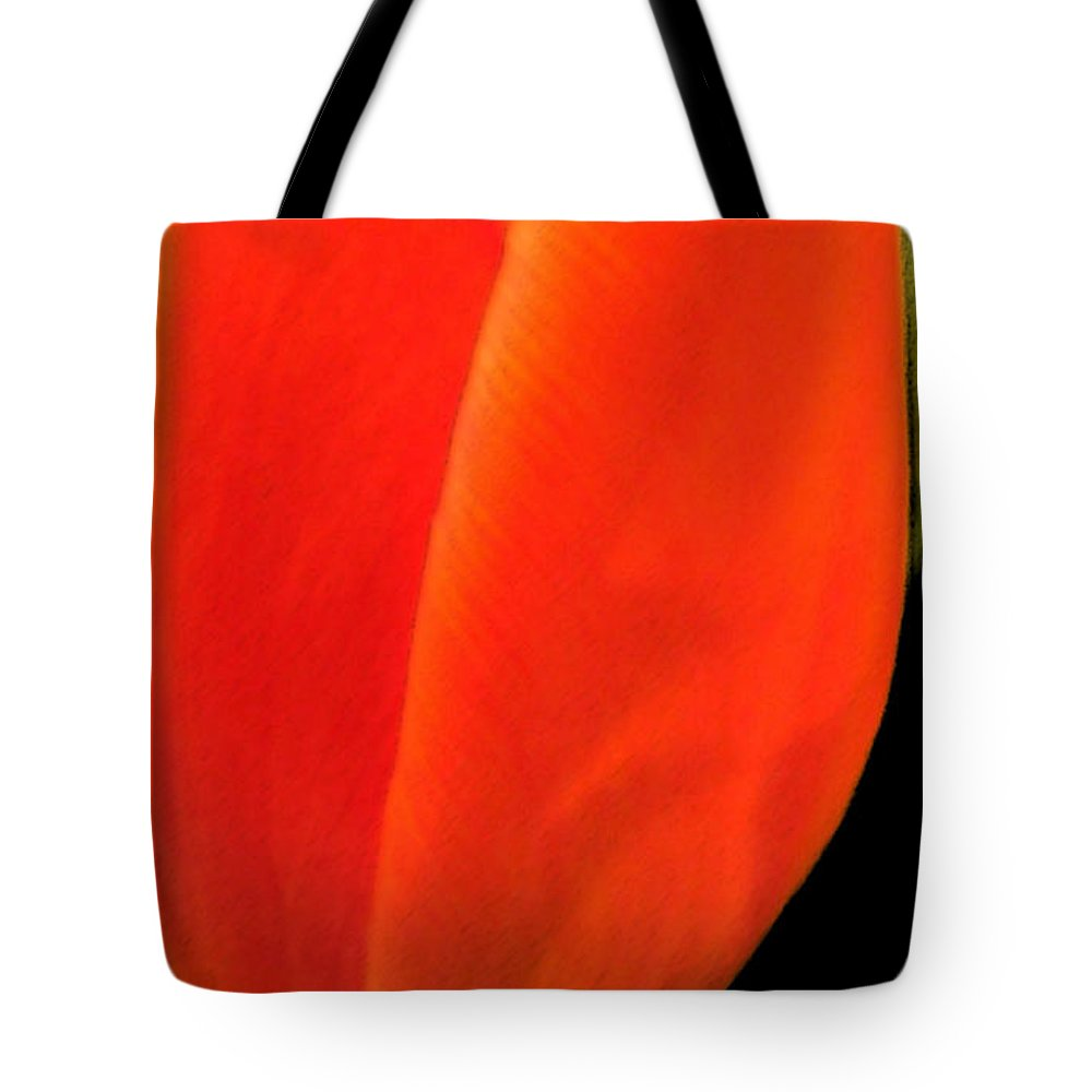 Tulips Tote Bag featuring the photograph Tulip by Amanda Barcon