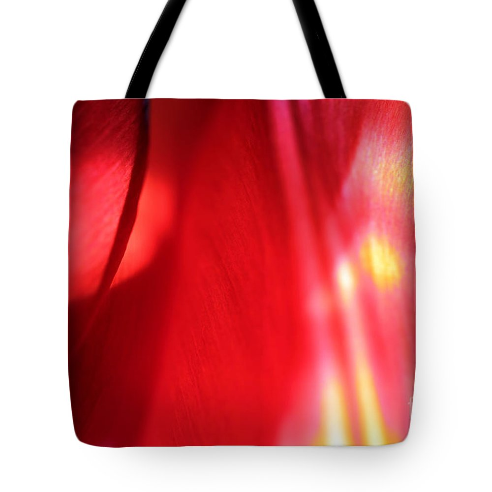 Tulips Tote Bag featuring the photograph Tulip Mind by Amanda Barcon