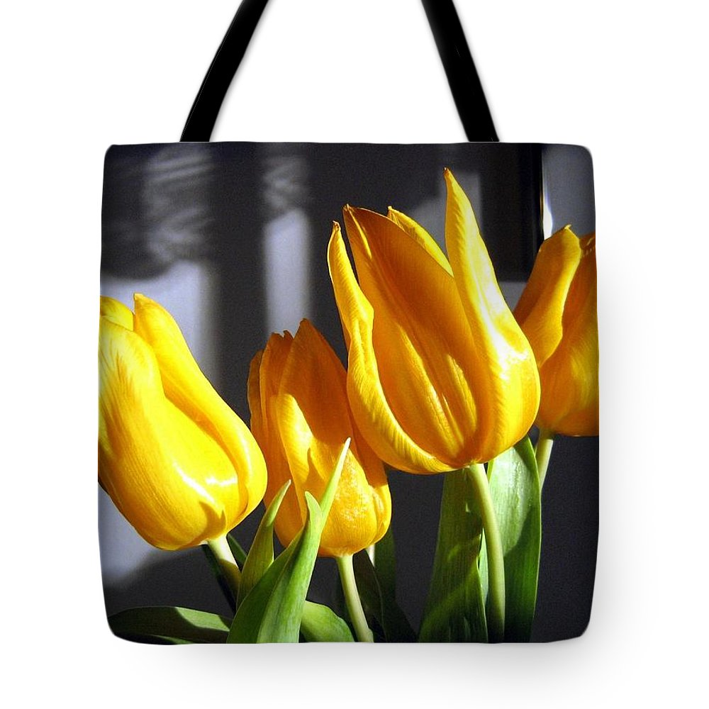 Tulips Tote Bag featuring the photograph Tulipfest 2 by Will Borden