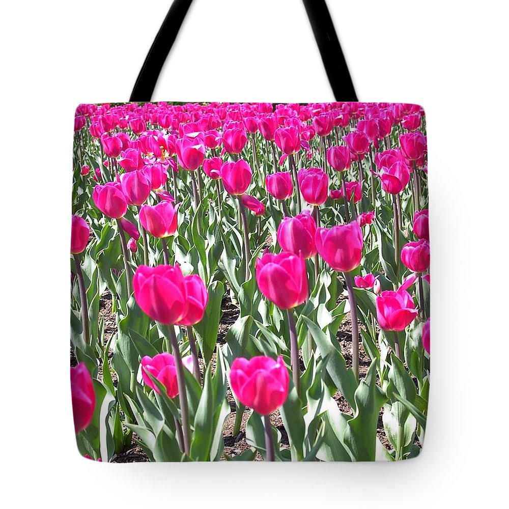 Charity Tote Bag featuring the photograph Tulips by Mary-Lee Sanders