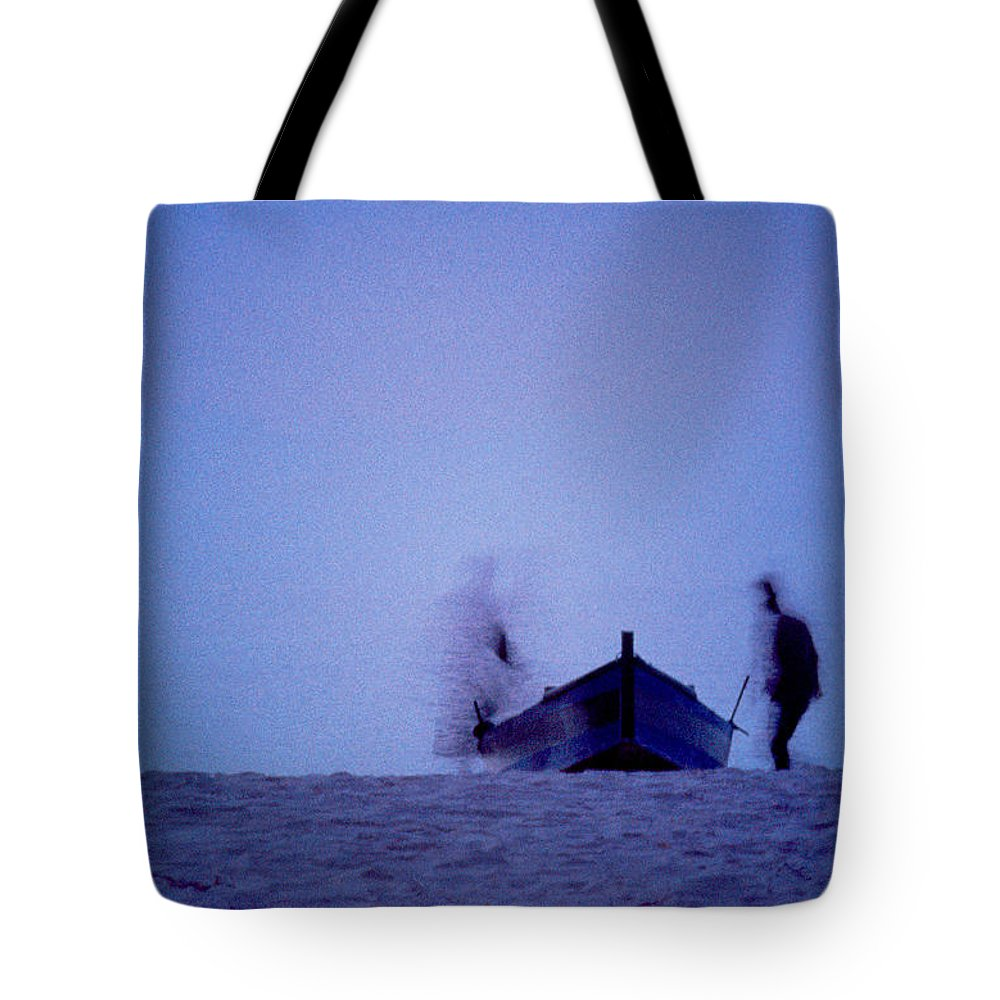 Moon Tote Bag featuring the photograph Tunesian Night by Michael Mogensen