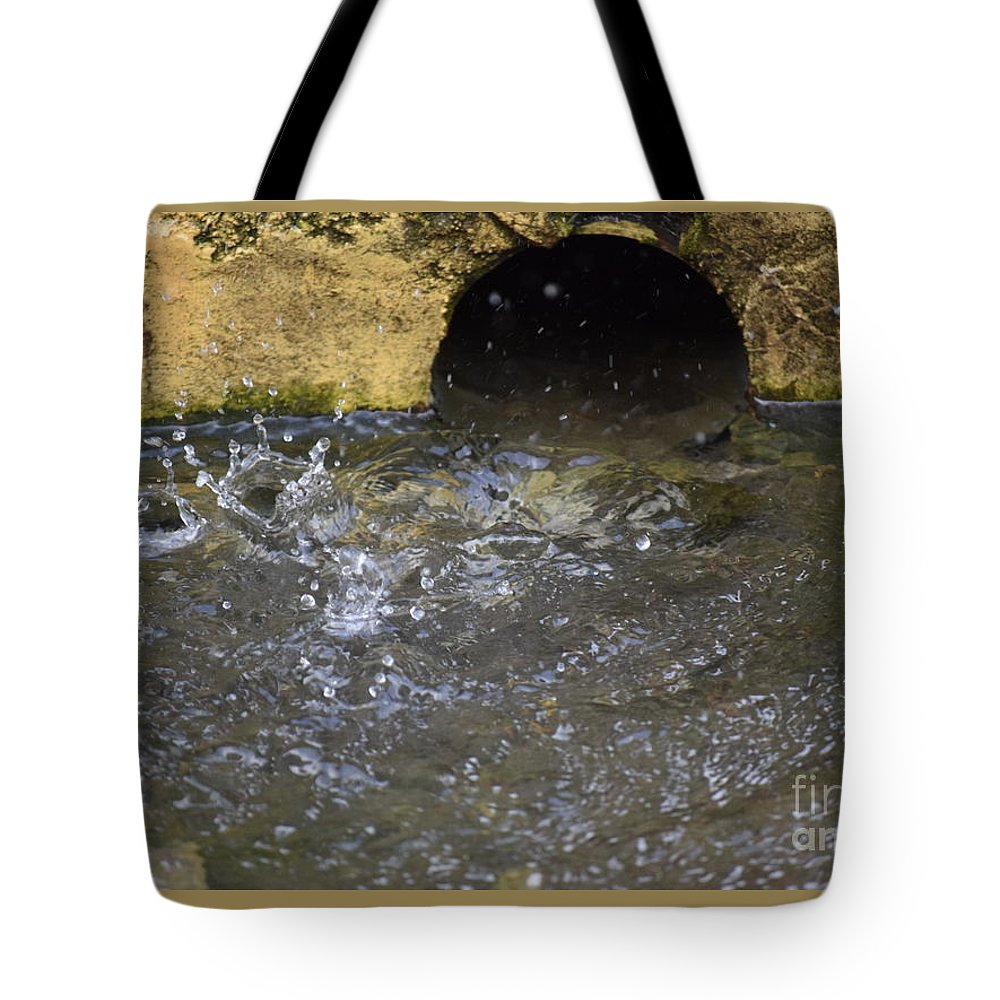 Tunnel Tote Bag featuring the photograph Tunnel by Anita Goel
