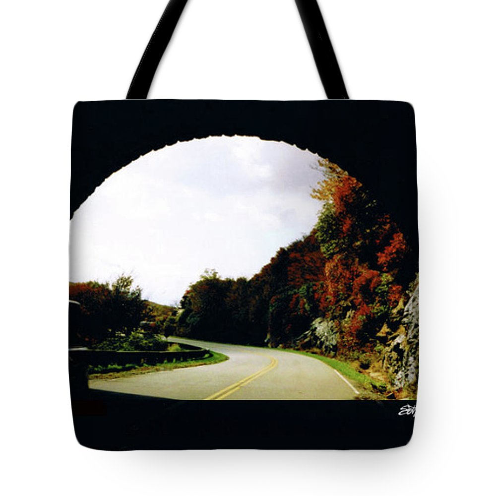 Tunnel Vision Tote Bag featuring the photograph Tunnel Vision by Seth Weaver