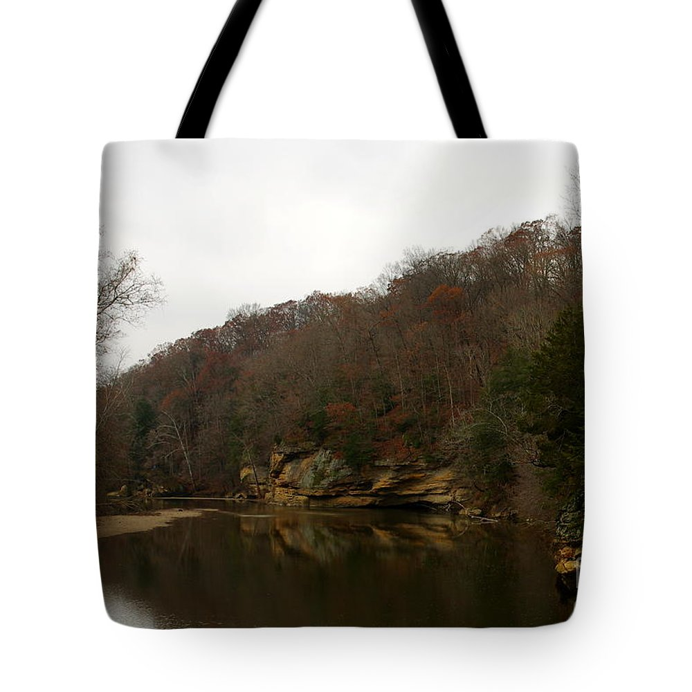Tote Bag featuring the photograph Turkey Run by Kitrina Arbuckle