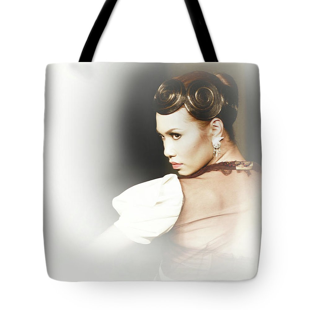 Tote Bag featuring the photograph Turn Back by Charuhas Images