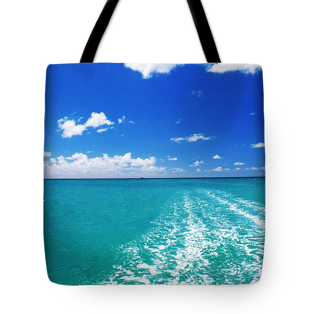 Beautiful Tote Bag featuring the photograph Turquoise Ocean by Dana Edmunds - Printscapes